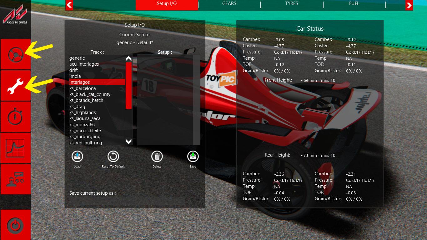 Desafio Assetto Corsa - Raptor R1, volta rápida em