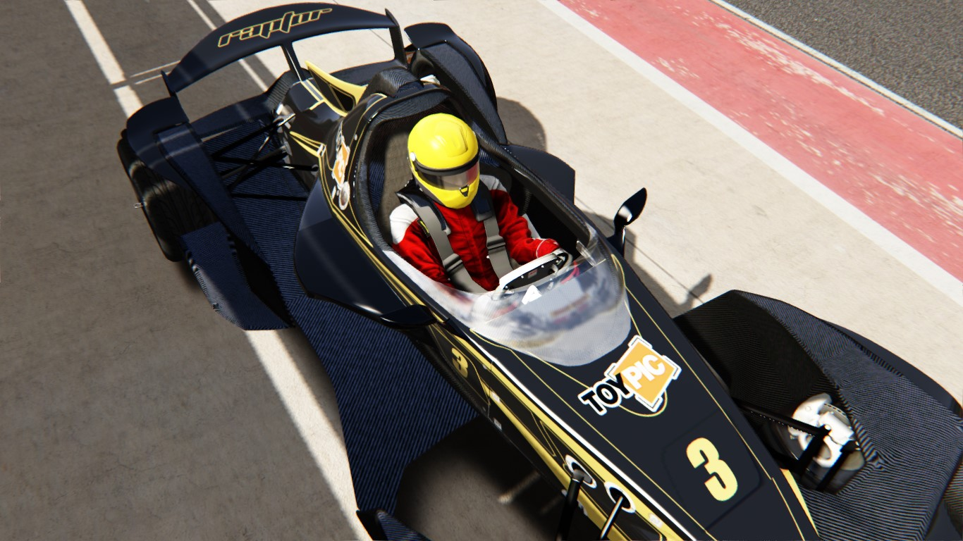 Raptor R1 - Mod Car Assetto Corsa
