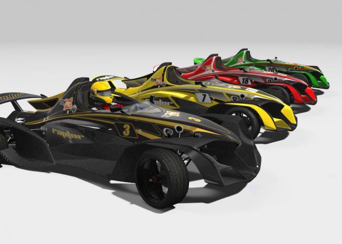 Raptor R1 - Skins Mod Car Assetto Corsa